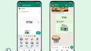 In-app sticker packs launched in WhatsApp for payments